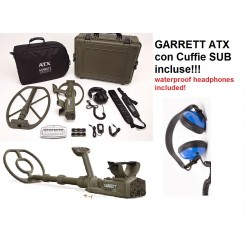 Garrett ATX Deepseeker Metal Detector - Cuffie Sub Incluse