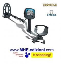 OMEGA 8000 10 DD Teknetics Metal Detector