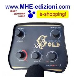 Vista GOLD VLF Metal Detector Deeptech