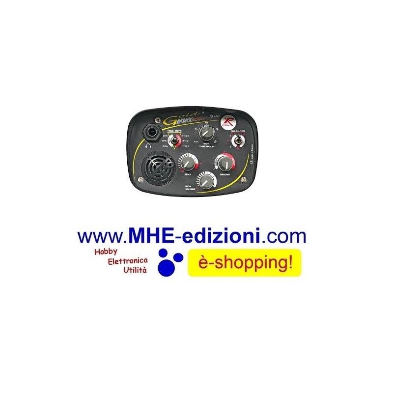 GoldMaxx Power 27 XP Metal Detector Gold Maxx - Mhe Edizioni