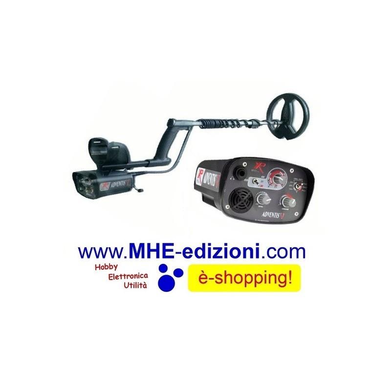 ADX 150 WIRELESS XP Metal Detector Xplorer - Mhe Edizioni