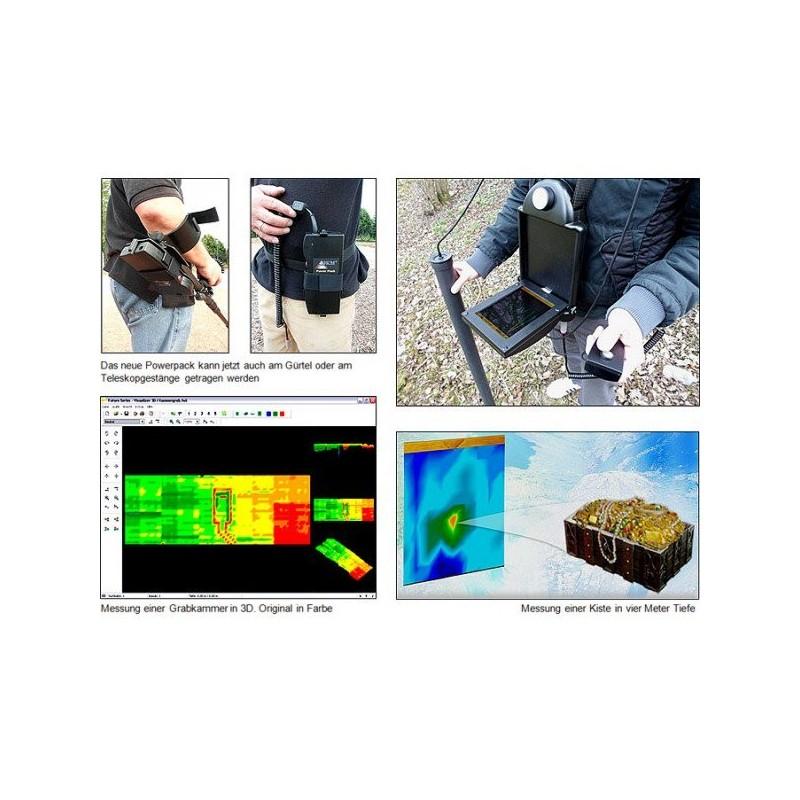 Okm Exp 4500 Professional Plus Geoscanner 3d Mhe Edizioni
