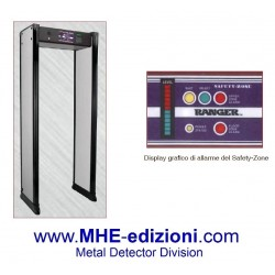 Porta metal detector Safety 6 Zone