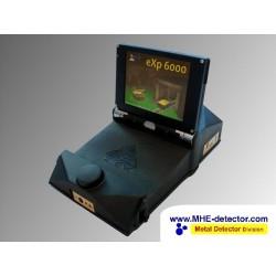 OKM EXP 6000 metal detector 3D Wireless con visualizzazione sugli occhiali e schermo touch scren.