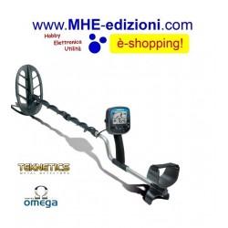 OMEGA 8000 11 DD Teknetics Metal Detector