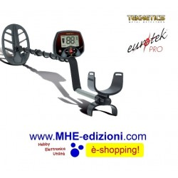 "EUROTEK PRO 11""DD Teknetics Metal Detector"