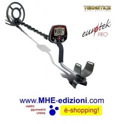 EUROTEK PRO 8 Teknetics Metal Detector