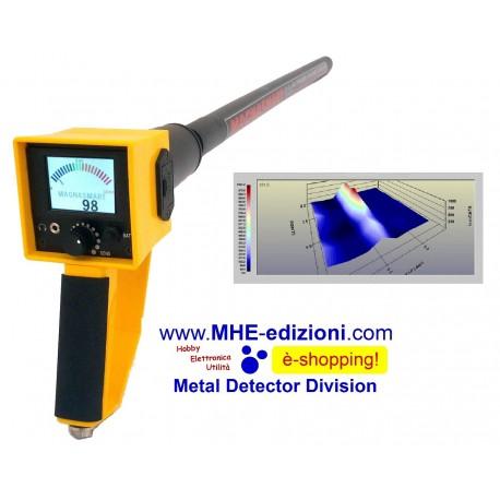 MAGNASMART Magnetometer Image Locators Metal Detector