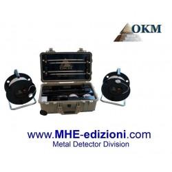 GeoSeeker OKM rilevatore geoelettrico di acqua e cavità fino a 250 metri