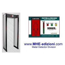 Porta metal detector Intelliscan 33 Zone