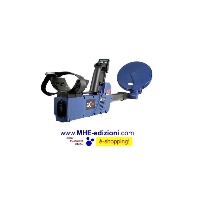 MINELAB SDC2300 METAL DETECTOR - Mhe Edizioni