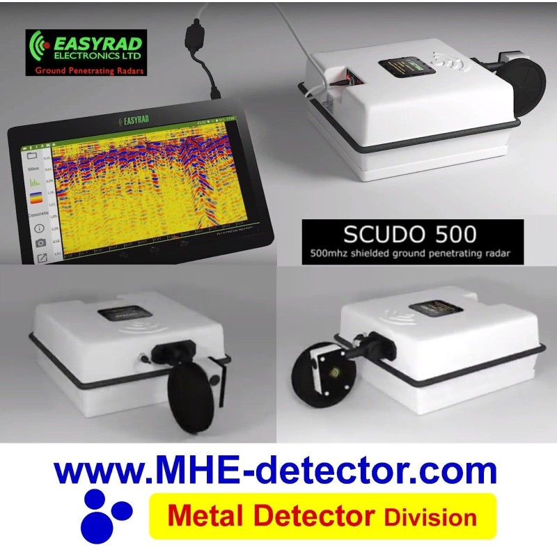 Easyrad, Scudo, GPR, ground radar systems, ground, radar